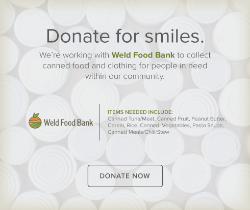 Dentists  Of Greeley - Weld Food Bank Drive